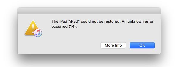 iPhone 7 Bootloop Fehler 14