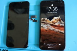 iPhone Display getauscht