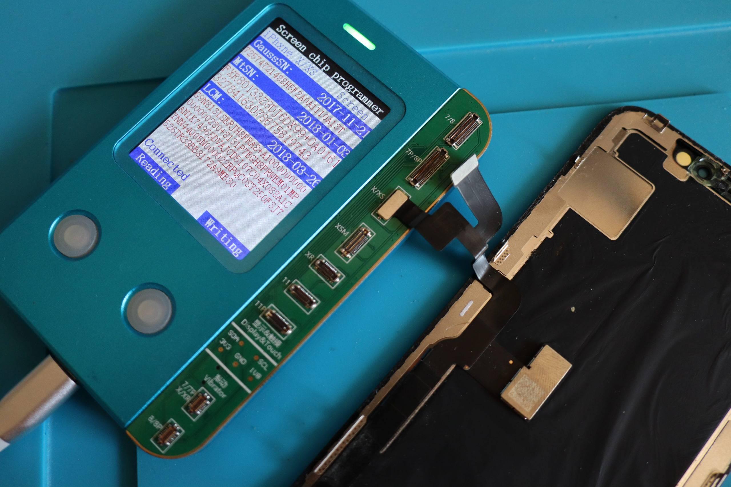 Umprogrammieren beim iPhone Displaytausch