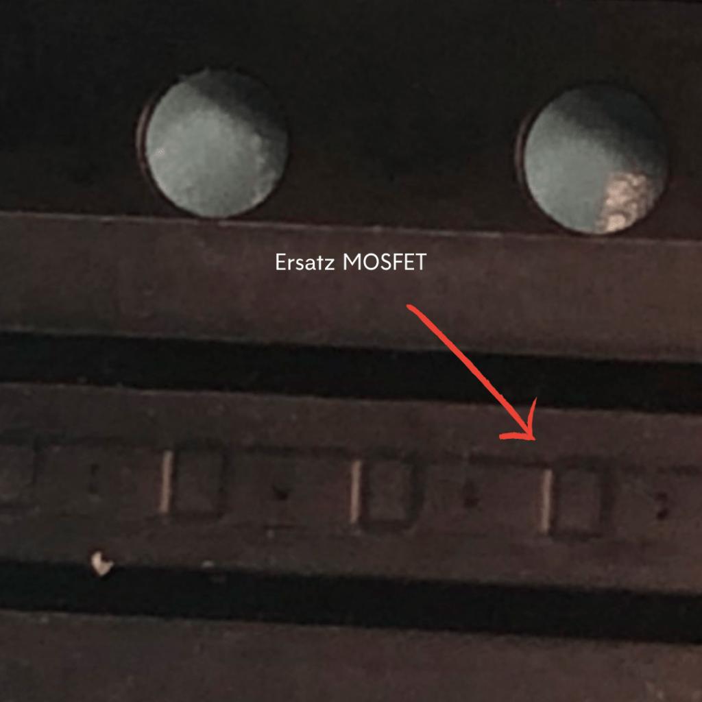 neuer MOSFET für Reparatur des iPhone 8