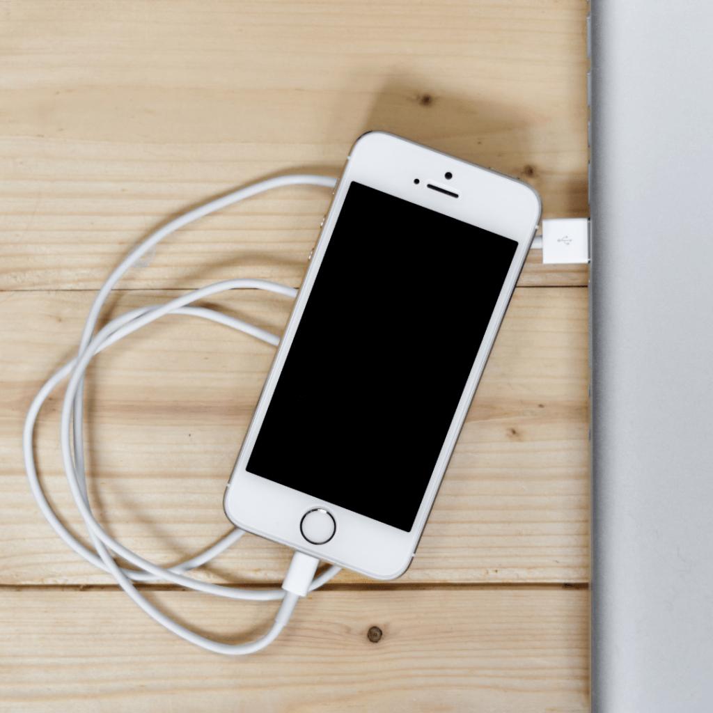 iPhone an PC anschließen bei Deaktivierung